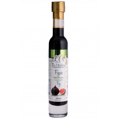 vinagar balsamic with figs