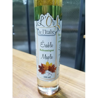 Vinaigre balsamique au sirop d'érable du Québec
