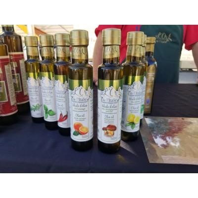 Huile d'olive avec des  porcinis 250 ml